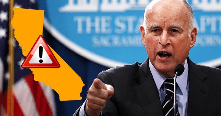 Jerry Brown Disarms California Citizens, Except For 36 Privileged People