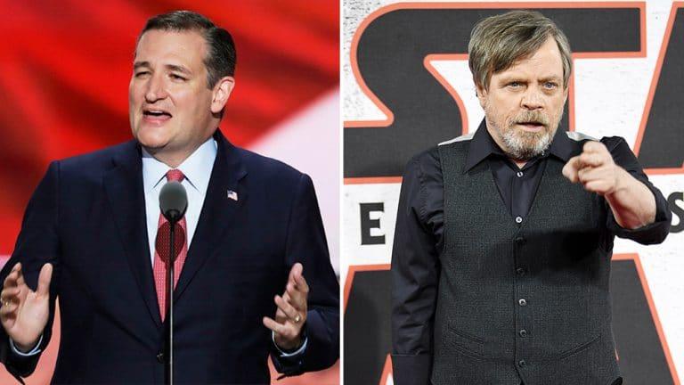 Ted Cruz Takes On 'Star Wars' Mark Hamill In Internet Debate, The Best Man Won