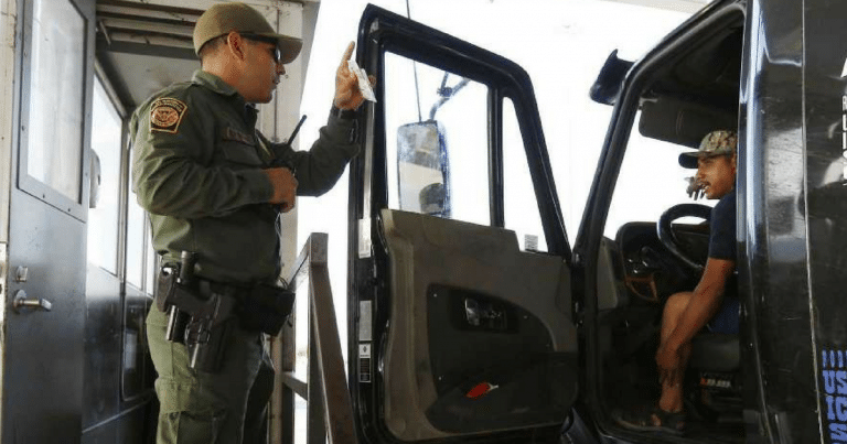 Border Patrol Agents Stop Truck, Find 76 Reasons To Arrest Driver