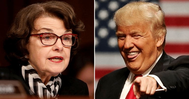 Feinstein Leaks Witch Hunt Details, So Donald Gives Her A Genius Nickname