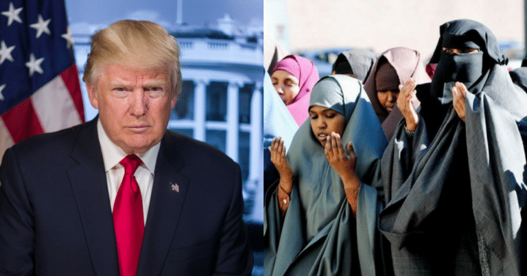 Donald Makes Stealth Move Against Sharia Law In 18 States