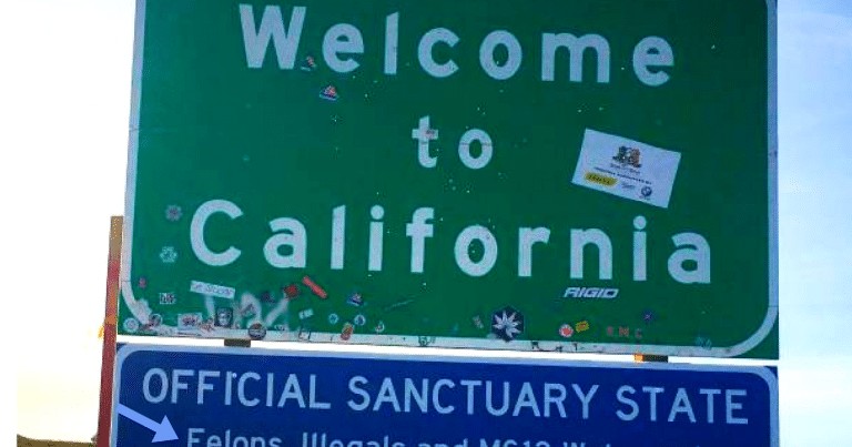 California Pranked By Republicans With Genius Sanctuary State Sign
