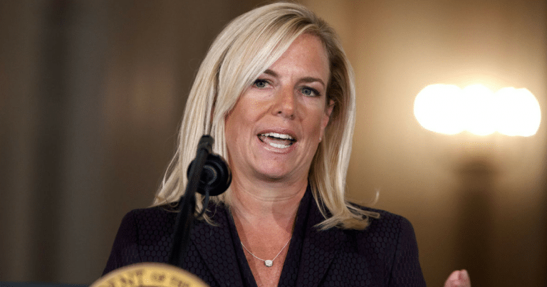 DHS Chief Explains Why Liberals Are Making Her Accept MS-13 Gang Members Into America