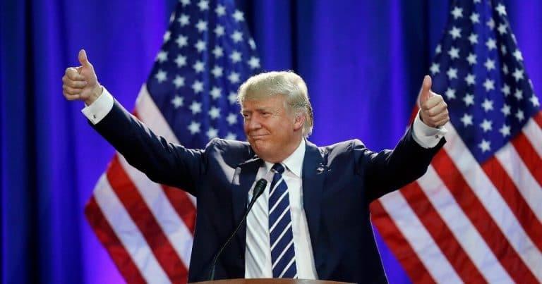 Report: U.S. Posts A Positive Number It Hasn't Seen In Almost 50 Years, Trump Scores Huge
