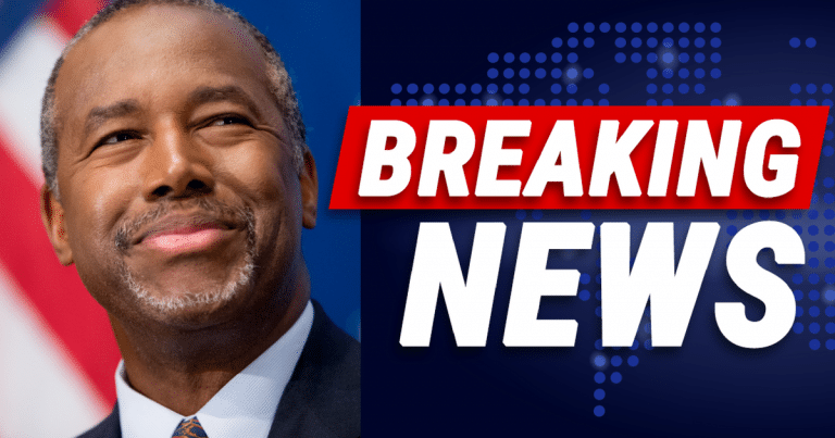 Ben Carson Drops D.C. Hammer On Democrats – Drains The Washington 'Red-Tape' Swamp