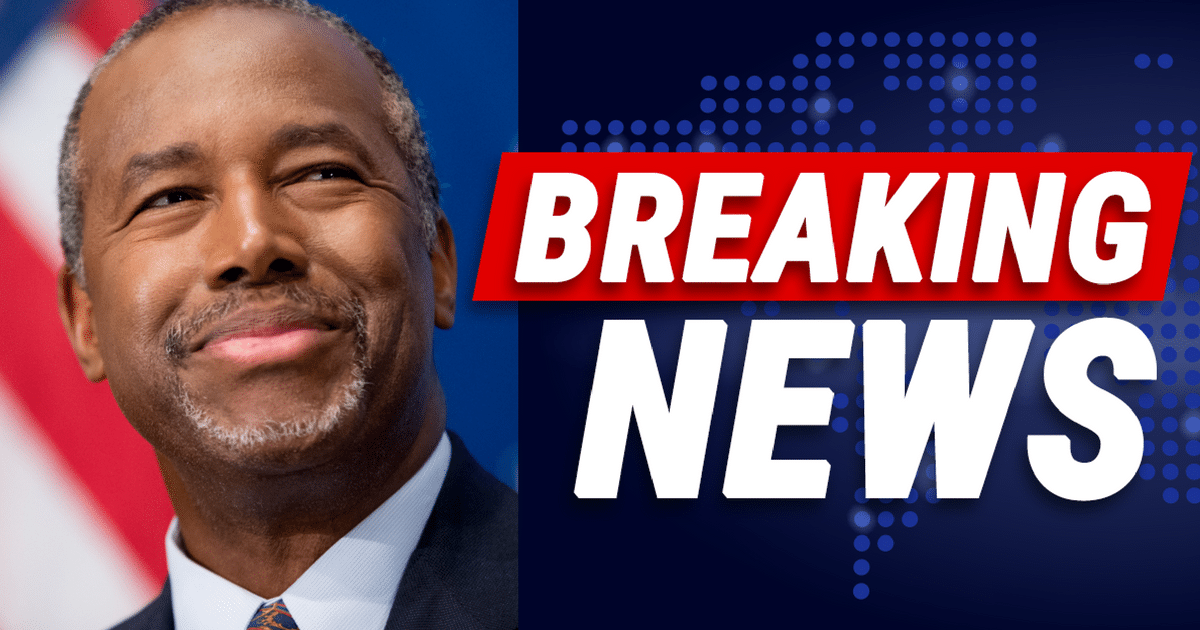 Days Before Midterms, Ben Carson Announces Big Win For Trump And Veterans
