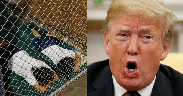Democrats Blame Trump For Children In Cages—His Response Has Them Deleting Tweets