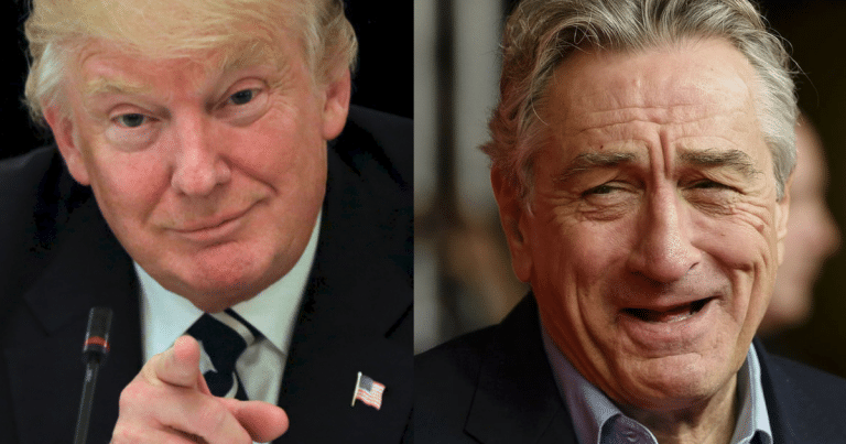 President Trump Responds To De Niro's Hollywood Tirade With His Best Nickname Yet