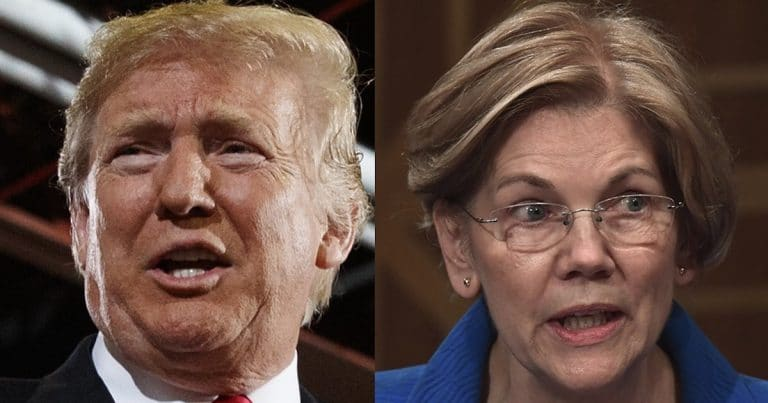 Donald Trump Stands Up To Warren's Lies, Makes $1 Million Bet To Set Record Straight