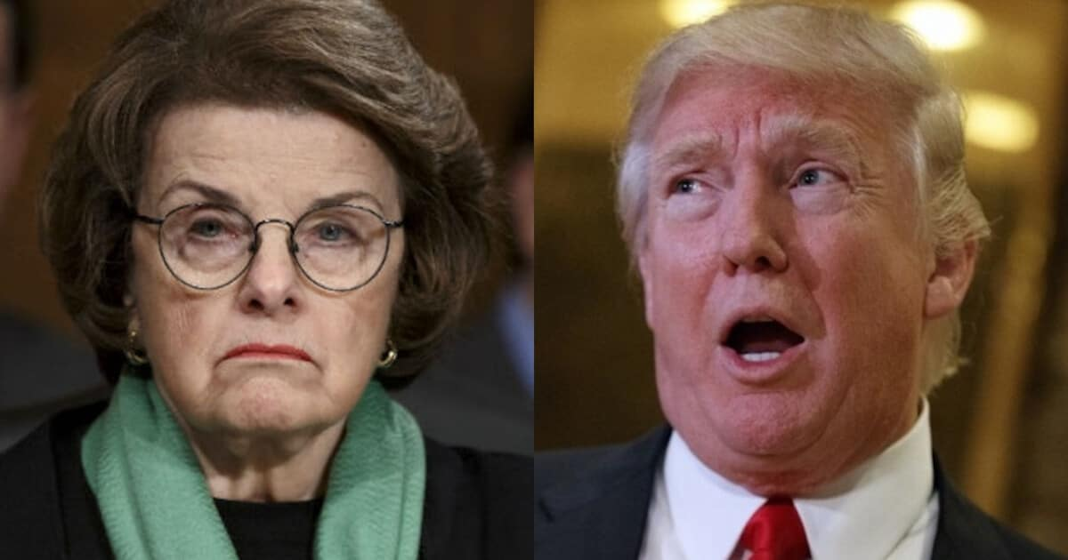 Diane Feinstein Loses Her Mind—'People Will Die' If Trump ...