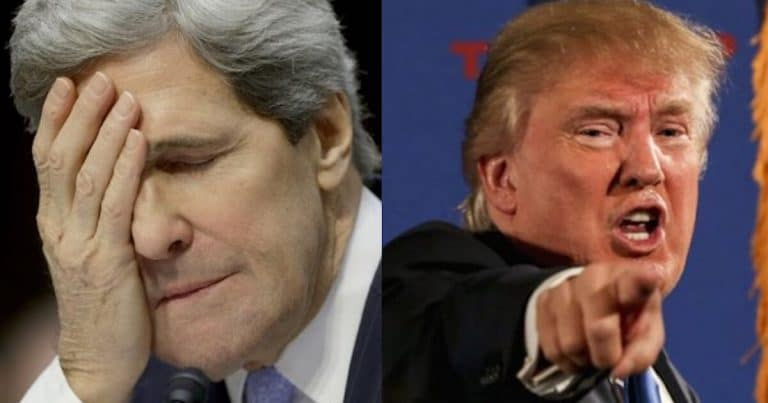 After John Kerry Admits He's Helping Iran – Trump Drops His Presidential Hammer