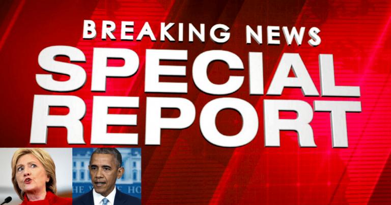 FBI Blindsides Hillary Clinton – Swings Obama's White House Closet Wide Open