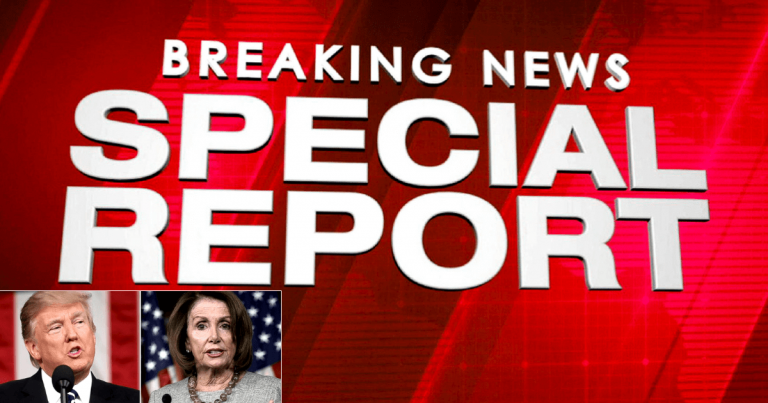After Pelosi Draws Red Line – Trump Unleashes Justice At The Border Wall