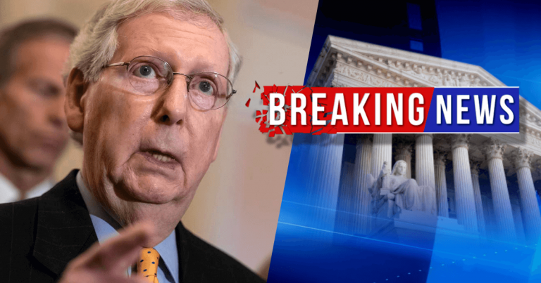 Mitch McConnell Sideswipes Senate Democrats – It Looks Like Mitch Has The 51 Votes He Needs To Block Witnesses