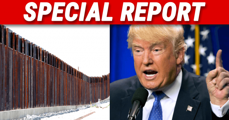 After Dems Claim Only 2 Miles Of Wall Built – Trump Reports The Real Numbers