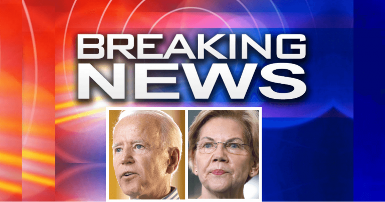 To Pay For Biden's Blowout Bill, Elizabeth Warren Plans To JACK UP Taxes On American Taxpayers Worth Over $50 Million