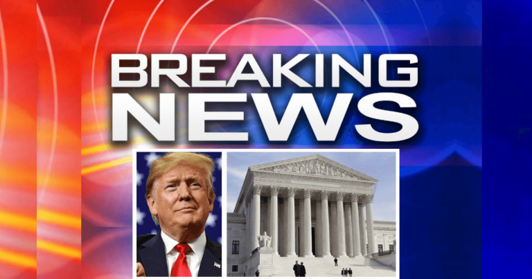 Supreme Court Stops Congress In Its Tracks – Freezes Their Order To Hand Over Trump's Taxes