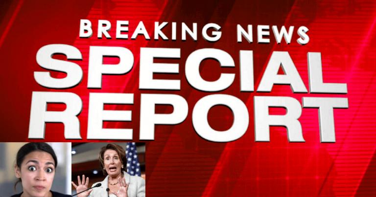 "Democrat ""Civil War"" Boils Over – AOC Accuses Queen Pelosi Of Liberal Sin"