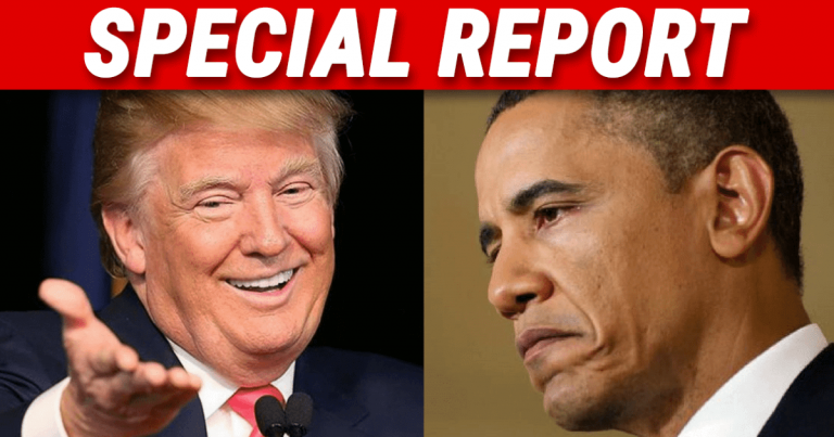 "President Trump Sideswipes Obama – There's A Reason Barry's More ""Popular"" Than Donald"
