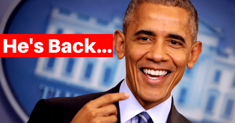Obama Crashes Back Into The Political Scene – Now He Wants To Change Your District Voting Lines