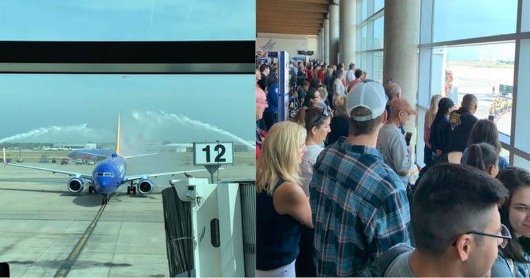 American Hero Lands On U.S. Soil For The First Time In 50 Years – An Entire Airport Watches