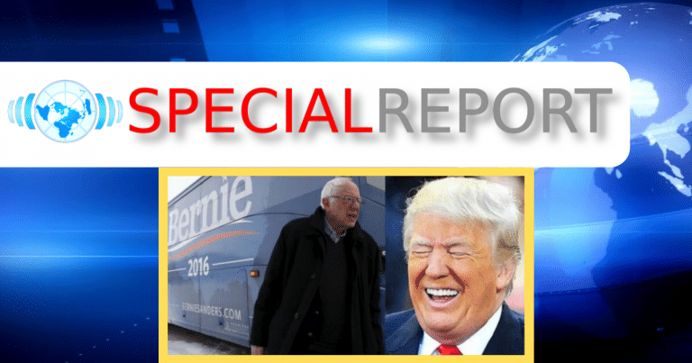 After Bernie's Campaign Bus Breaks Down – Video Captures Socialism In a Nutshell