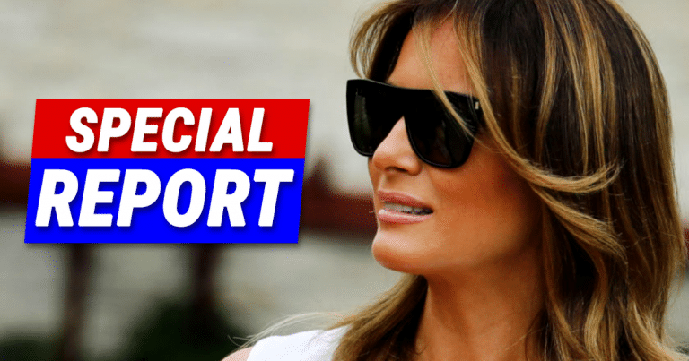 Melania Wears New Freedom Ceremony Outfit – She Turns Every Head In The Room