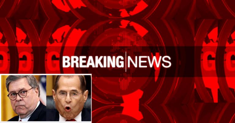 Barr's DOJ Blindsides Nadler – Uses His Impeachment Investigations Against Him