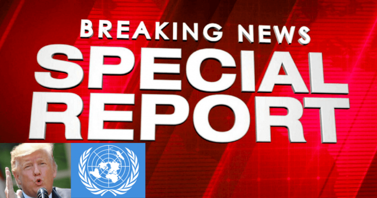 United Nations Admits It's In Deep Trouble – Looks Like Trump Was Right, UN Will Close Its Doors If Member States Don't Pay Up