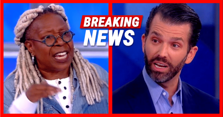 After Whoopi Goes After Trump Jr. – Don Turns 'The View' Upside-Down