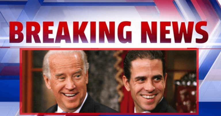 Congress Just Released The Hunter Biden Report – It Accuses The Biden Family Of Trying To Enrich Themselves