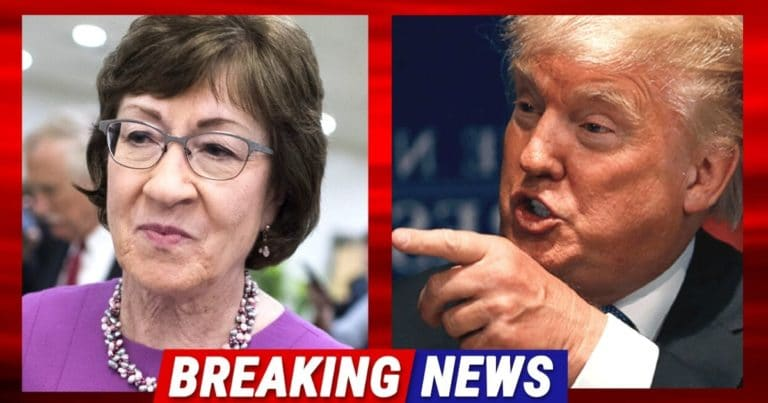 Senator Collins Turns On President Trump – Votes With Democrats In Impeachment Trial For More Time
