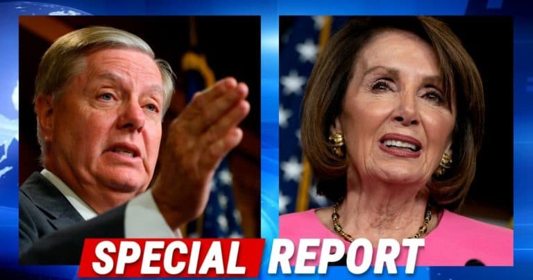 Lindsey Graham Drops Deadline On Pelosi – If Nancy Misses It, He Will Change The Rules