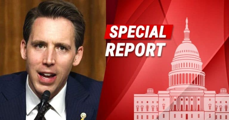 After Senator Hawley Plans To Force 2020 Election Debate – His Own Home Gets Mobbed By Antifa