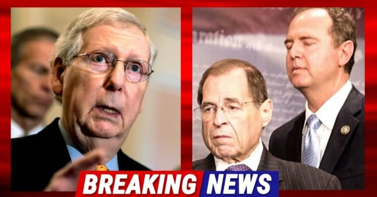 After McConnell Sets Impeachment Rules – Schiff And Nadler Accuse Mitch Of Running A 'Rigged' Trial