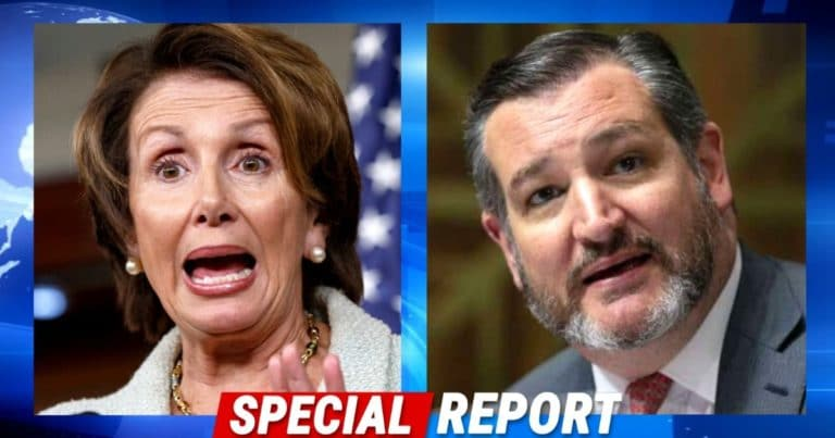 "Ted Cruz Takes On Nancy Pelosi, Accuses The Speaker Of Just ""Shoveling Money To Her Friends"""