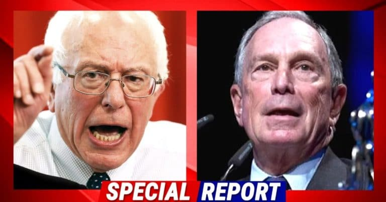 After Bloomberg Calls Out 3-House Socialist Sanders – Bernie Loses It On Live TV