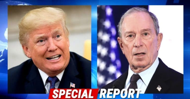 Bloomberg Says He Wants To Kick Trump Out – But Two Years Ago, He Told America To Support Donald