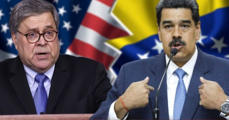 Bulldog Barr Officially Indicts Socialist Dictator – $15M Reward For Arrest Of Venezuelan President Maduro