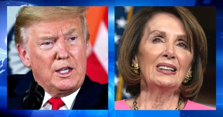 "After Trump Warns Blue Mail-In Vote States – Pelosi Shows Off Her Renamed $3.6 Billion Bill ""Voting At Home"""