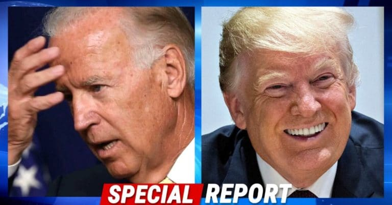 Donald Trump Takes Biden To The Cleaners After Joe Shows Up To Vote In Person In Delaware