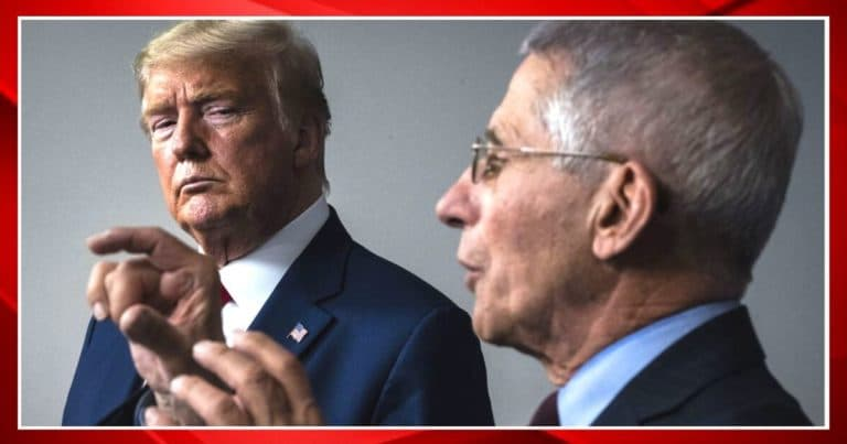 """Dr. Fauci Reportedly """"Resisted"""" President Trump – Donald Told Him To Cancel Grant To Chinese Lab"""