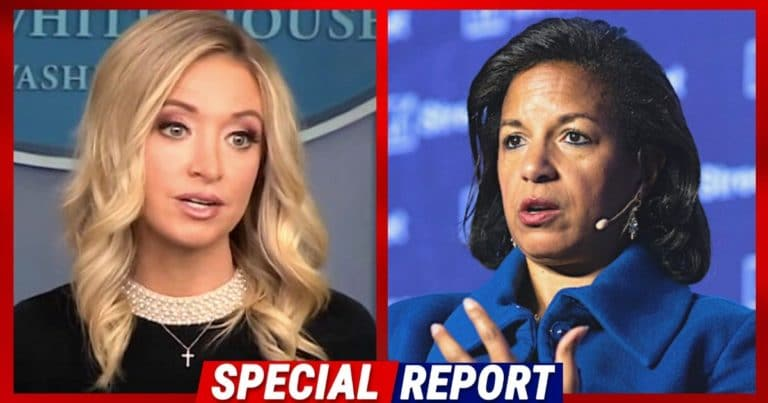 McEnany Calls Out Obama Adviser Susan Rice – Accuses Her Of Lying About Trump and Flynn Surveillance