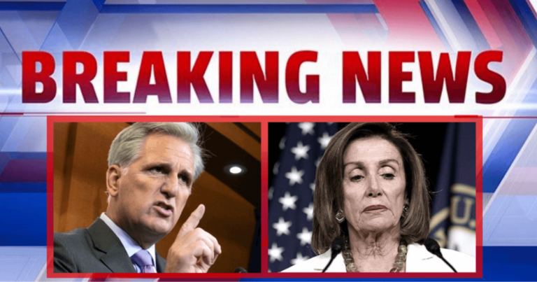 After Democrats Dare To Punish Marjorie Taylor-Greene – Kevin McCarthy Warns Pelosi She Will Regret It