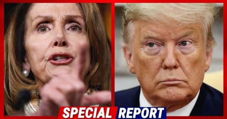 "Nancy Pelosi Crosses The COVID Line – She Lets China Off Hook, Then Calls It The ""Trump Virus"""