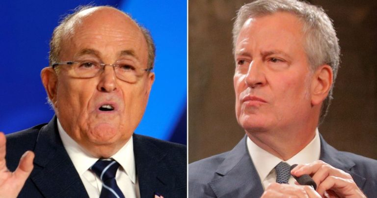 Hours After Giuliani Demands NYC Mayor Removed – Governor Cuomo Says He Has The Power To Do It