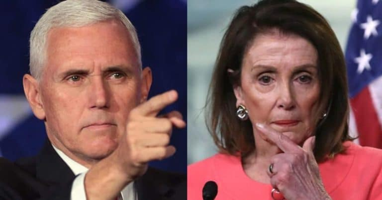After Pelosi Pressures Pence To Use 25th Amendment – House Republicans Just Shut Down Her Expedited Request