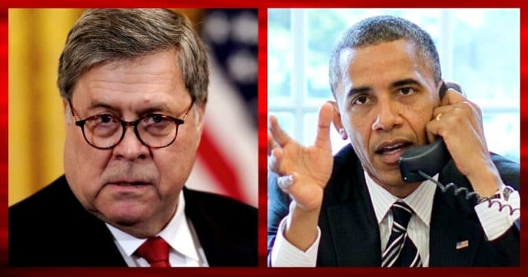 AG Bill Barr Launches Fresh Obama Investigation – He Appoints Texan US Attorney To Review Obama Admin Unmaskings
