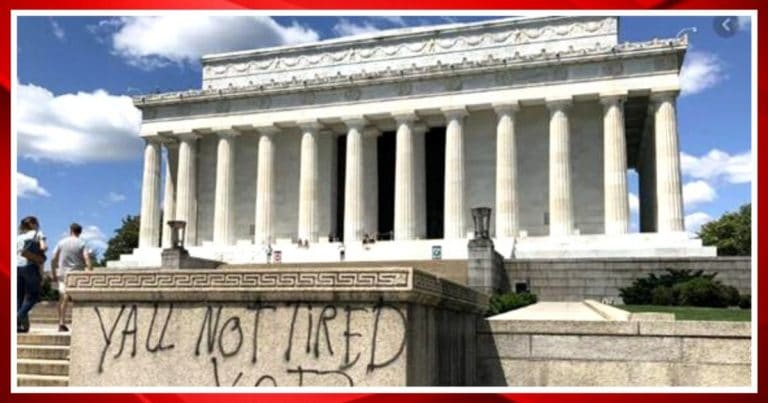 After Man Spray Paints Lincoln Memorial, He Finds Out Trump Was Serious About 10 Years In Jail