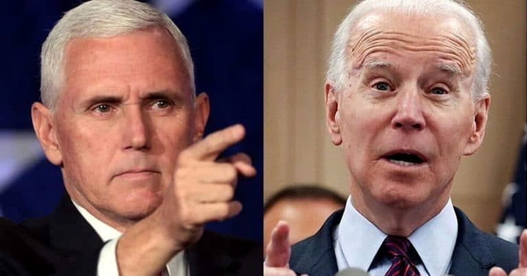 Vice President Mike Pence Takes On Joe Biden – Accuses Former VP Of Making The Country Less Safe, Endorses Police